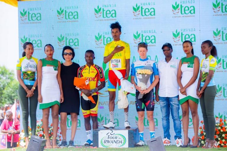 Tesfazion Natnael wo muri Eritrea niwe wegukanye Tour du Rwanda 2020