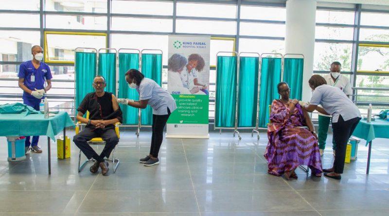 Perezida Kagame na Madamu we bakingiwe COVID-19